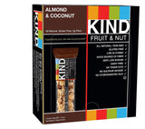 KIND Bars Almond & Coconut Gluten Free 1.4 Ounce Bars 12 Count AKI-009 - Chickadee Solutions - 1