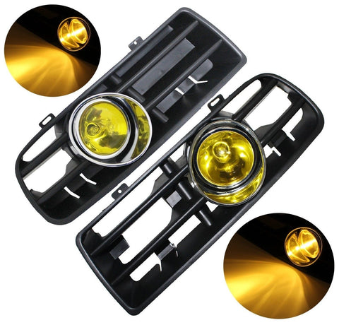Pair Front Lower Bumper Grille Fog Light Lamp For VW Golf MK4 GTI TDI 6000K 9... - Chickadee Solutions - 1