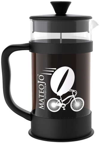 French Press Coffee Maker - Fun Playful Design - 34-ounce - 8 Cups or 4 Mugs ... - Chickadee Solutions - 1