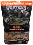WESTERN 78077 Oak BBQ Smoking Chips - Chickadee Solutions - 1