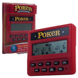 Trademark Global Electronic Handheld 5 in 1 Poker Game - Chickadee Solutions