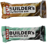 Clif Bar Builders Nutritional Bar Variety Pack 18 Count Pack of 18 - Chickadee Solutions - 1