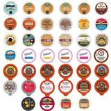 Flavored Coffee Variety Sampler Pack for Keurig K-Cup Brewers 40 Count - Chickadee Solutions - 1