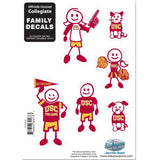 NCAA Family Character Decals Large USC Trojans - Chickadee Solutions