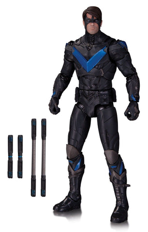 DC Collectibles Batman Arkham Knight: Nightwing Action Figure - Chickadee Solutions