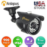 "Anlapus CCTV Camera 1/3"" 900TVL 960H 36 IR LEDs With IR Cut 100FT/30M Night V... - Chickadee Solutions - 1"
