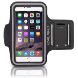 Ohio Tech iPhone Running & Exercise Armband for iPhone 6 5 5s 5c 4 4s - Black - Chickadee Solutions - 1