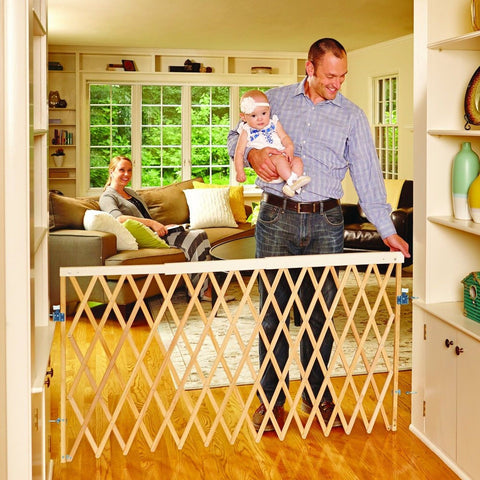 North States Supergate Expandable Swing Gate Natural