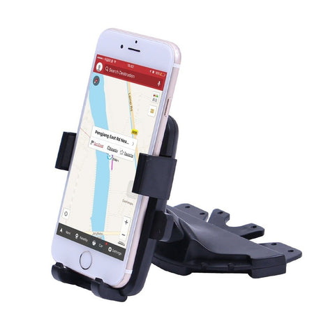 Car Mount Patea Universal 360 Rotating CD Slot Insert In-Car Mobile Phone Cra... - Chickadee Solutions - 1