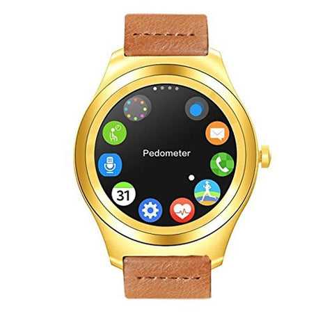 TECKING 32G All-in-1 Smartwatch&Cell Phone Sync to IOS Android OS with Green ... - Chickadee Solutions - 1