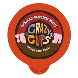 Crazy Cups Chocolate Raspberry Truffle Flavored Coffee Single Serve cups for ... - Chickadee Solutions - 1