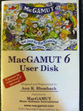 MacGamut 6 User Disk 2008 - Chickadee Solutions