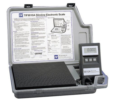 Robinair TIF9010A Slimline Refrigerant Electronic Charging/Recover Scale - Chickadee Solutions