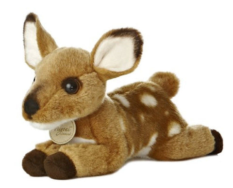 "Aurora World Miyoni Fawn 9"" Plush - Chickadee Solutions"
