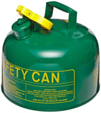 "Eagle UI-10-SG Type I Metal Safety Can Combustibles 9"" Width x 8"" Depth 1 Gal... - Chickadee Solutions"