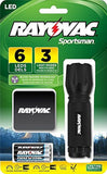 Rayovac Sportsman 18 Lumen 3AAA 6-LED Blood Tracking Flashlight with Batterie... - Chickadee Solutions
