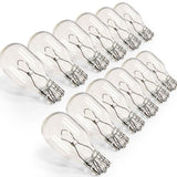 eTopLighting 12-Pack 12V 7W T5 Wedge Base Replacement Bulb T5 Low Voltage 12X... - Chickadee Solutions - 1