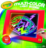 Crayola Multi Color Light Board Frustration-Free Packaging - Chickadee Solutions