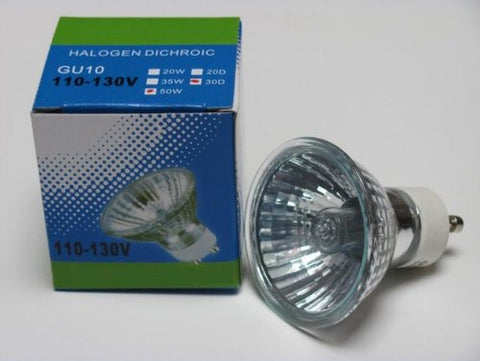 CBconcept 12XGU1050W Halogen Light Bulb JDR GU10 120Volt 50Watt - 12 Bulbs - Chickadee Solutions - 1