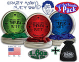 "Crazy Aaron's Thinking Putty Precious Gems Gift Set Bundle Including ""Persian... - Chickadee Solutions - 1"