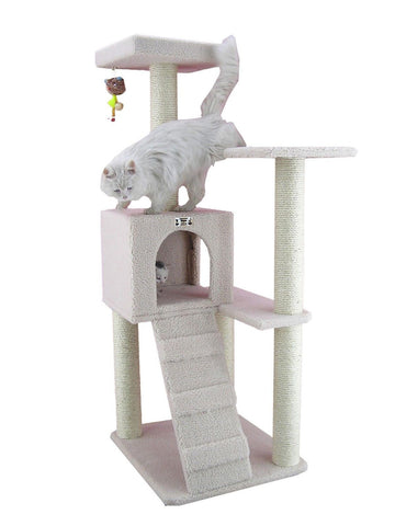 Armarkat Cat tree Furniture Condo Height -50-Inch to 60-Inch - Chickadee Solutions - 1