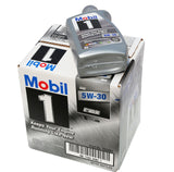 Mobil 1 94001 5W-30 Synthetic Motor Oil - 1 Quart (Pack of 6) - Chickadee Solutions - 1