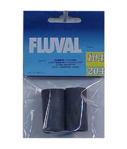 A20016 Fluval Rubber Adapter for Ribbed Hosing 2-Pack - Chickadee Solutions