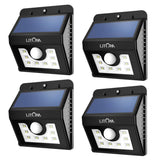 Litom Super Bright 8 LED Solar Powered Wireless Security Motion Sensor Light ... - Chickadee Solutions - 1