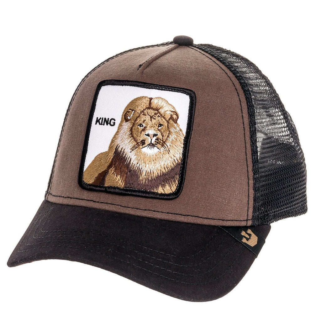 eb3767628d5f8 Goorin Bros. Men's Beaver Baseball Cap Brown Lion - King One Size