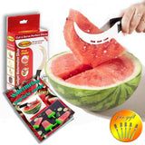 I-Do Gadget - Watermelon Slicer Corer & Server With 5 Free Dessert Forks + Wa... - Chickadee Solutions - 1