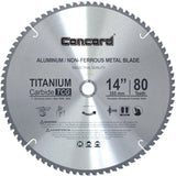 Concord Blades ACB1400T080HP 14-Inch 80 Teeth TCT Non-Ferrous Metal Saw Blade - Chickadee Solutions