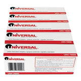 Universal Standard Chisel Point 210 Strip Count Staples 5000/Box 5 Boxes per ... - Chickadee Solutions - 1