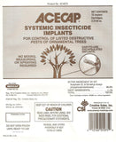 Acecap 75-Pack Systemic Insecticide Tree Implants for Control of Tree Pests 3... - Chickadee Solutions