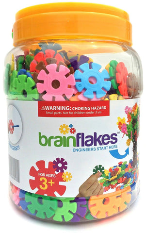 VIAHART Brain Flakes 500 Piece Interlocking Plastic Disc Set 1 VIAHART - Chickadee Solutions - 1