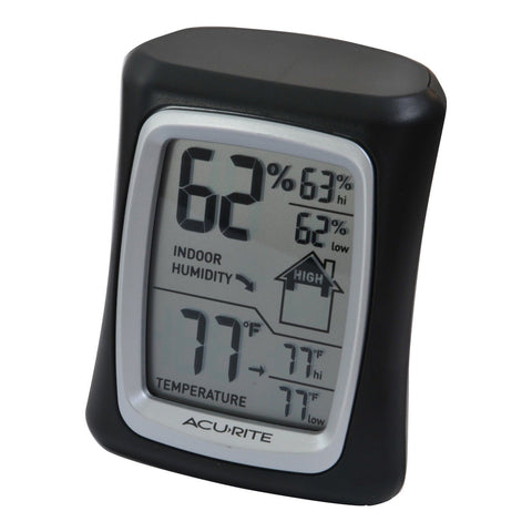 AcuRite 00325 Home Comfort Monitor Black - Chickadee Solutions - 1