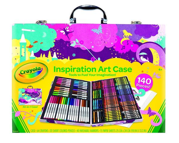 Crayola inspiration art case pink standard packaging for Jewelry making kit for 4 year old