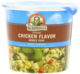 Dr. McDougall's Right Foods Vegan Chicken Flavor Noodle Soup Light Sodium 1.4... - Chickadee Solutions
