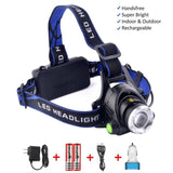 Super Bright LED Headlamp Headlight Flashlight 1800 Lumen Waterproof Camping ... - Chickadee Solutions - 1
