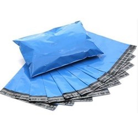 "6""x9"" Blue Color Poly Mailers Self Seal Plastic Envelope Bags - 100pcs - Chickadee Solutions - 1"