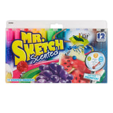 Mr. Sketch Assorted Scent Markers 12 Pack (1905069) Assorted Colors Set of 12 - Chickadee Solutions - 1