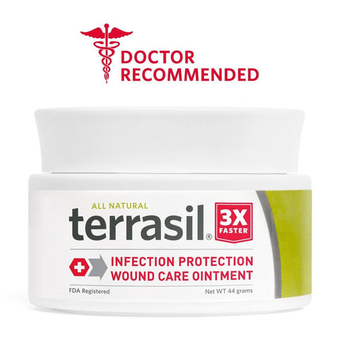 Terrasil Wound Care - 3X Faster Healing Dr. Recommended 100% Guaranteed Paten... - Chickadee Solutions - 1