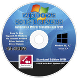 2016 Automatic Driver Installation DVD For Windows 10 8 - 8.1 7 Vista and XP ... - Chickadee Solutions - 1