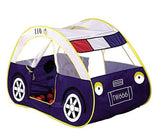 Zewik Kids Pop-up Play Tent Children Cartoon Police Car Canopy Kids Adventure... - Chickadee Solutions - 1
