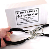 Horseshoe Puzzle _ Remove and Replace the Metal Ring - Chickadee Solutions - 1