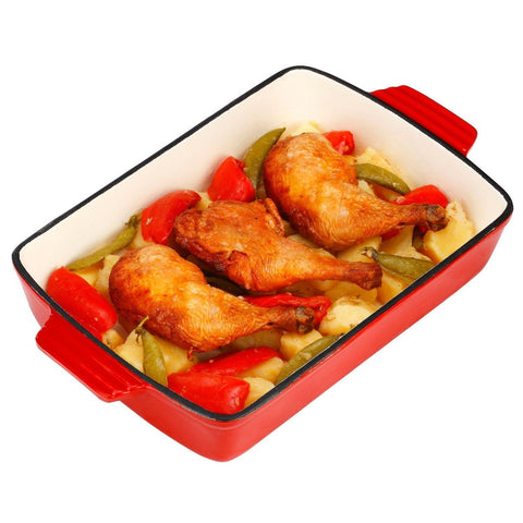 VonShef Roasting Tray Red VonShef - Chickadee Solutions - 1