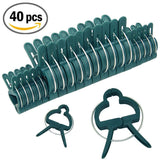 Sago Brothers Plant and Flower Clips 40 PCS for Supporting Stems Vines Stalks - Chickadee Solutions - 1
