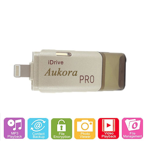 Memory Card Reader for iPhone Aukora Lightning USB i-Flash Drive Micro SD TF ... - Chickadee Solutions - 1