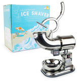 WYZworks Commercial Heavy Duty 440lb/h Sno Snow Cone Ice Shaver Shaved Icee M... - Chickadee Solutions - 1