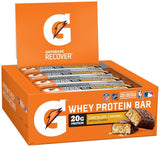 Gatorade Whey Protein Recover Bars Chocolate Caramel 2.8 oz bars (12 Count) - Chickadee Solutions - 1