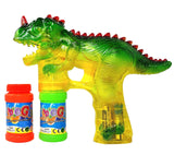 Haktoys 1900D Dinosaur Bubble Shooter Gun with LED Lights and Dinosaur Sound ... - Chickadee Solutions - 1
